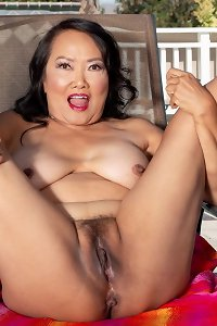 Two asian aged cuties a mom and a gilf